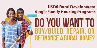 usda rual development single family housing programs usda rural development