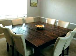 8 chair dining table 8 chair square dining table with regard to your own home ranch large