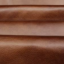 Upholstery Fabric Faux Leather Distressed Antique Aged Brown Fire Retardant Faux Leather
