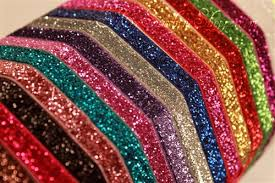 3 inch glitter ribbon glitter elastic by the yard wholesale