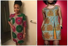 modele de robe de bureau ce week end osez la robe en pagne voila