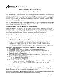 Sample Of Power Of Attorney Document by Revocation Of Power Of Attorney Form 17 Free Templates In Pdf