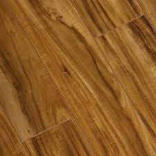 Laminate Flooring Hand Scraped Trafficmaster Hand Scraped Douglas Acacia 8 Mm Thick X 5 5 8 In