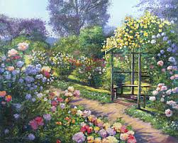 english country garden paintings fine art america