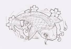 cool tattoo design koi fish tattoo designs sketch collection
