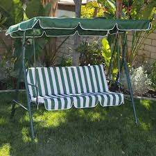patio swing canopy cover black polished wrought iron based outdoor