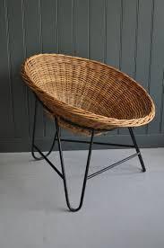 wicker chair on hairpin legs u2013 b southgate
