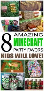minecraft party favors party favor ideas
