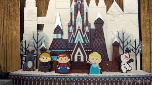 frozen gingerbread display disney s contemporary resort frozen gingerbread display disney s contemporary resort christmas holiday decorations youtube