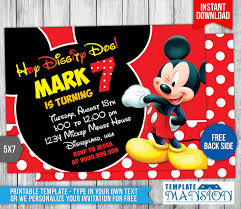 mickey mouse clubhouse birthday invites mickey mouse birthday invitation 4 by templatemansion on deviantart