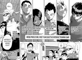 haikyuu 208 page 18 manga stream manga anime pinterest