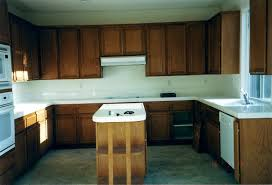 Diy Refinishing Kitchen Cabinets by Painting Wood Kitchen Cabinets White Before And After Floor
