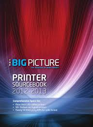 the big picture printer sourcebook 2012 2013 by st media group