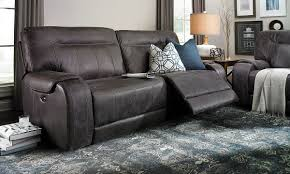 Leather Sofa Store Pasadena Power Reclining Top Grain Leather Sofa Dump Furniture