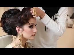 pakistani hairstyles in urdu pakistani bridal makeup and hairstyle tutorial in urdu 2016