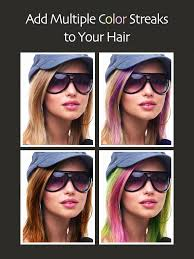 see what you would look like with different color hair hair color booth on the app store