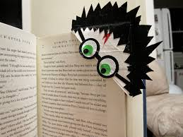 harry potter duct tape book mark in use looks like he u0027s reading