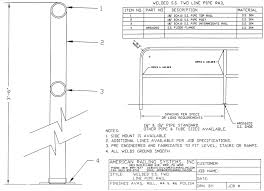 Ibc Stair Design Cad Details American Railing Systems Inc