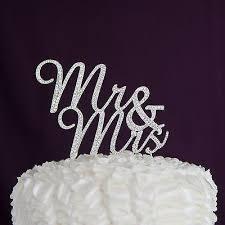 mr mrs cake topper mr mrs cursive cake topper silver ella celebration