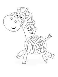 zebra mask free coloring pages storytelling zebra