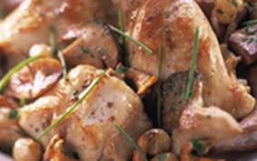 cuisiner lapin entier recette lapin aux raisins et chignons des bois 750g
