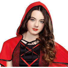 Little Red Riding Hood Makeup For Halloween by Red Riding Hood Teen Halloween Costume Walmart Com