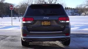 jeep grand cherokee rear bumper 2014 jeep grand cherokee led tail light conversion youtube