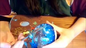 how i paint my ornaments from the inside youtube