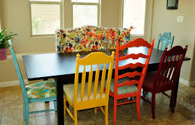 Colorful Kitchen Chairs | colorful kitchen eclectic kitchen salt lake city by brooke