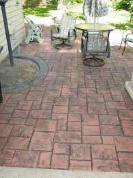 Photos Of Stamped Concrete Patios by Concrete Stamping Schroder Concrete Omaha Ne