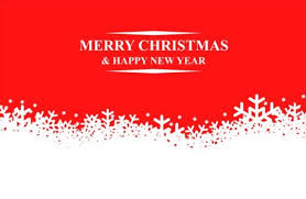 christmas snow with red background vector vector background