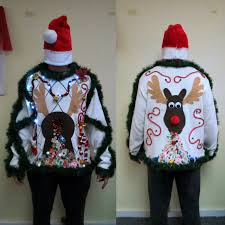 made to order 3 d pooping puking christmas reindeer tacky ugly