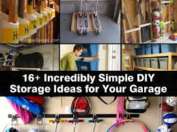 Design Your Garage 16 Incredibly Simple Diy Storage Ideas For Your Garage