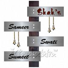 buy 4 names suspended nameplate creative family plaque in