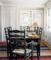 No Dining Room Farmhouse Dining Room With Red Table Vancouver Carpet Cleaners And