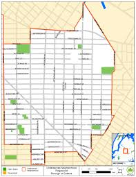 Map Of Queens Ceqr Glossary Oec