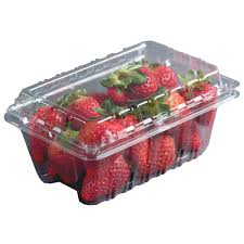 clamshell clear plastic containers and baskets for the grower and