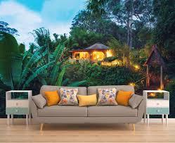 wall decor home decor home living jungle wall mural romantic wall decal wallpaper exotic jungle wallpaper wall mural
