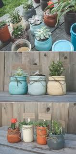 Unique Planters For Succulents by Best 25 Mason Jar Planter Ideas On Pinterest Mason Jar Herbs