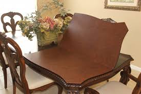 table pad protectors for dining room tables round table pad protector entrancing custom table pads for dining