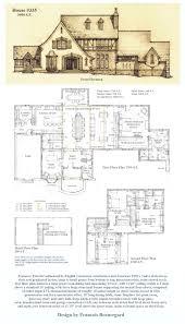 tudor house floor plans free design modern figure0754 hahnow