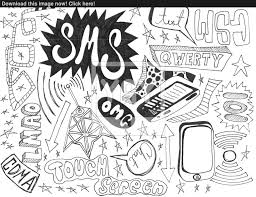 hand drawn doodles design elements scetch scribbles drawing image