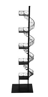 dawson metal shelf unit in black h 154cm maisons du monde