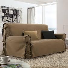 housse pour canapé 3 places housse de canapé 3 places taupe housse de canapé eminza