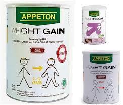 harga susu appeton weight gain penambah berat badan april 2018