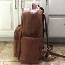 Rugged Leather Backpack 18 Off Rawlings Handbags Rawlings Rugged Genuine Leather