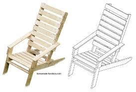 Diy Lounge Chair Chairs Drawings Free Construction Plans Homemade Diy Chair Examples