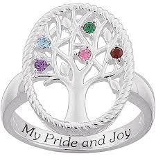mothers day birthstone rings family rings