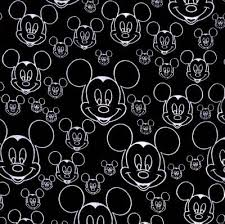 black white mickey mouse art hairstyle artist indonesia