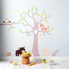 sticker mural chambre fille stickers muraux repositionnables bebe stikers chambre enfant sticker